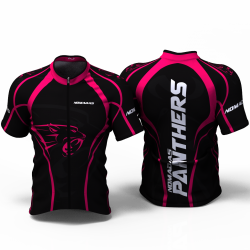 Panther fuchsia Cycling Jersey