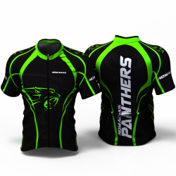 Panther Green Cycling Jersey