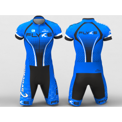 Flyke blue Cycling suit