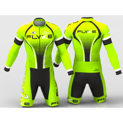 Flyke neon green Cycling suit