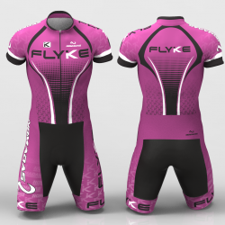 Flyke Purple Cycling Suit