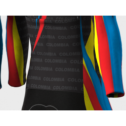 Colombia Olympic Team Cycling Suit