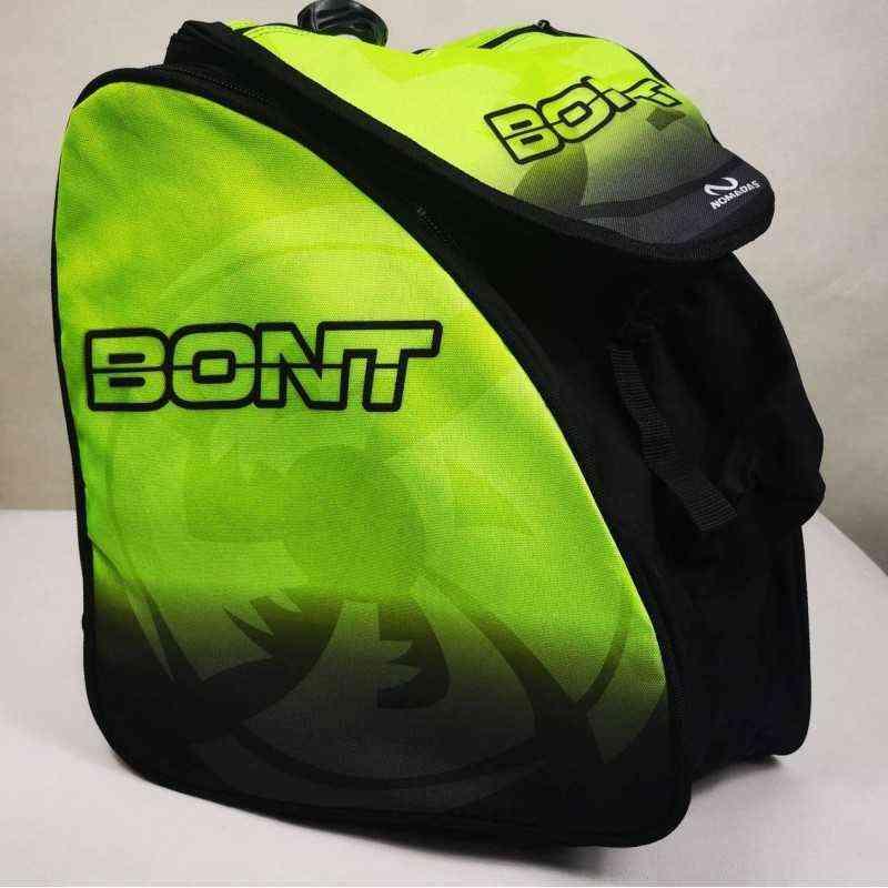 Bont Green padded skating backpack for girls, women, men, kids