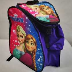 Frozen padded skating backpack for girls, women, men, kids