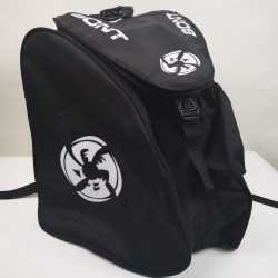 Bont black - white padded skating backpack for girls, women, men, kids