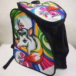 Unicorn padded skating backpack for girls, women, men, kids
