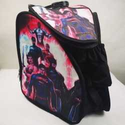 Justice League padded skating backpack for girls, women, men, kids