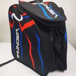 Thunder red-blue padded skating backpack for girls, women, men, kids