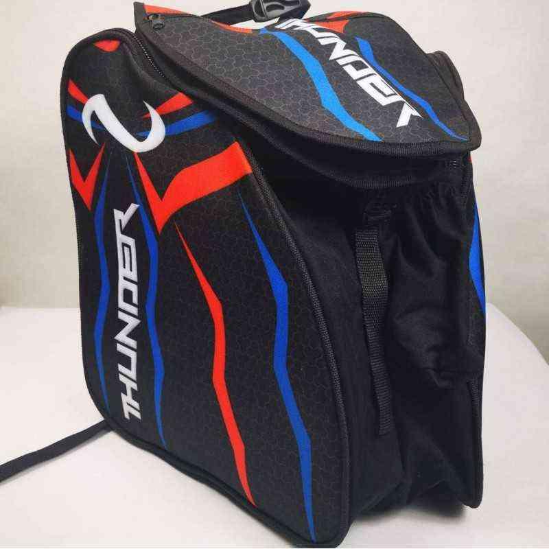 Maleta morral bolso de para patines patinaje Thunder rojo azul  para niñas, mujeres,hombres,niños