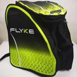 Flyke Green Padded skating backpack  for girls, women, men, kids