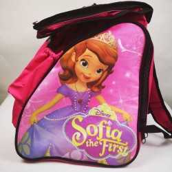 Princess Sofia II fuchsia padded skating backpack for girls, women, men, kids