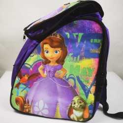 Princess Sofia Purple  padded skating backpack for girls, women, men, kids