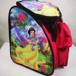 Snow White Padded skating backpack  for girls, women, men, kids