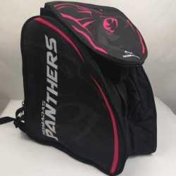 Panther fuchsia Padded skating backpack  for girls, women, men, kids