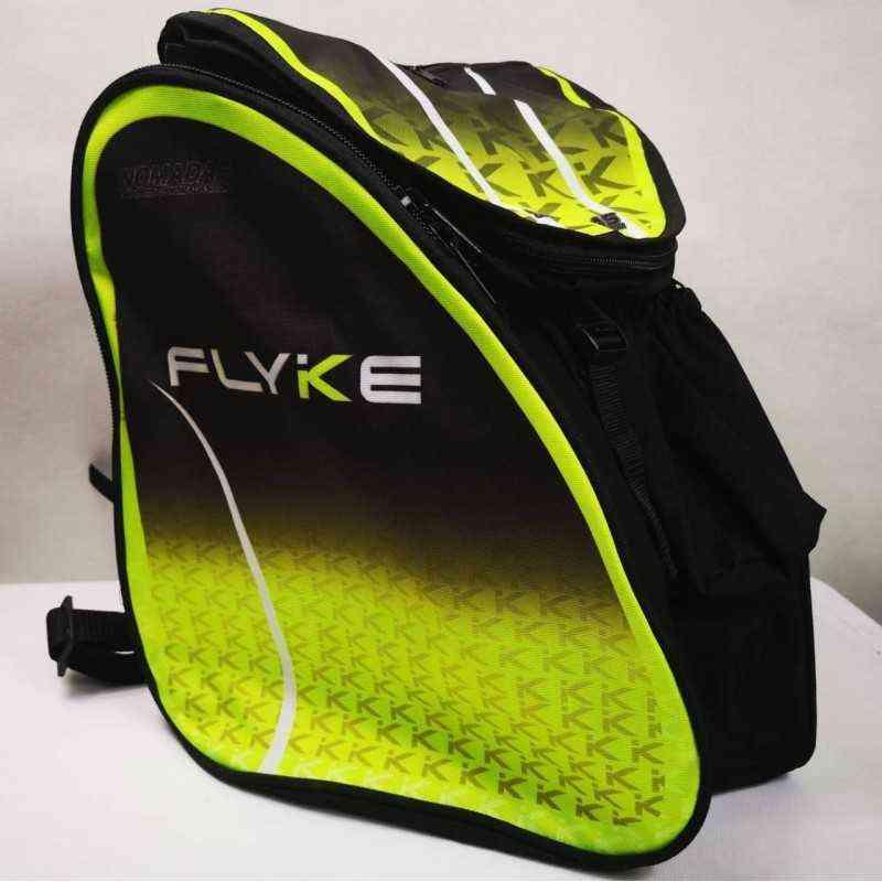 Flyke Green Thermoformed skating backpack