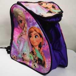 Frozen II purple padded skating backpack for girls, women, men, kids