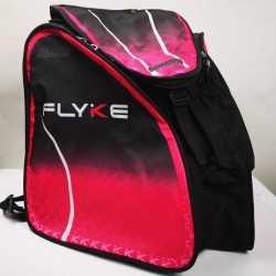 Flyke fuchsia thermoformed backpack speed skating for girls, women, men, kids