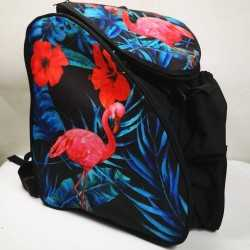 Flamenco Thermoformed skating backpack for girls, women, men, kids