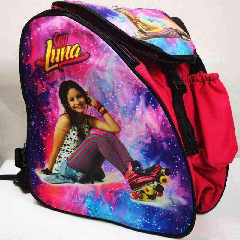 Soy Luna Thermoformed skating backpack for girls, women, men, kids