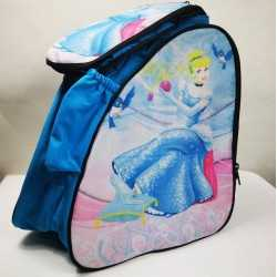 Cinderella padded skating backpack for girls, women, men, kids
