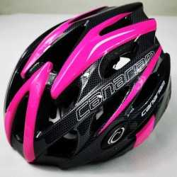 Helmet Sonic Canariam fuchsia Black SKATE AND CYCLING
