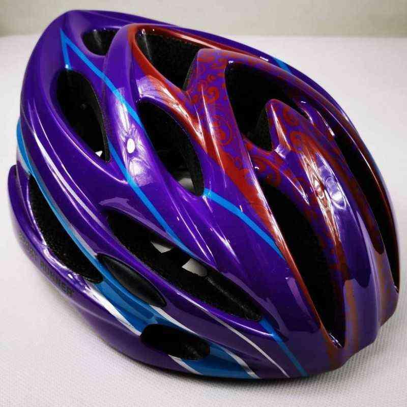 casco de para patinar patinaje montar en ciclismo bicicleta para mujer niña dama unisex sport runner lila azul rojo